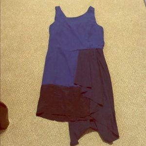 BCBGMAXAZRIA Runway Dark Cobalt Dress